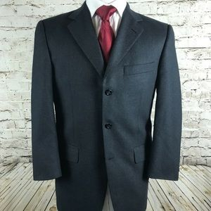 Burberry London Three Button Sport Coat Size 40R